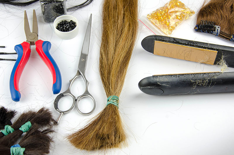 Different Hair Extensions Methods