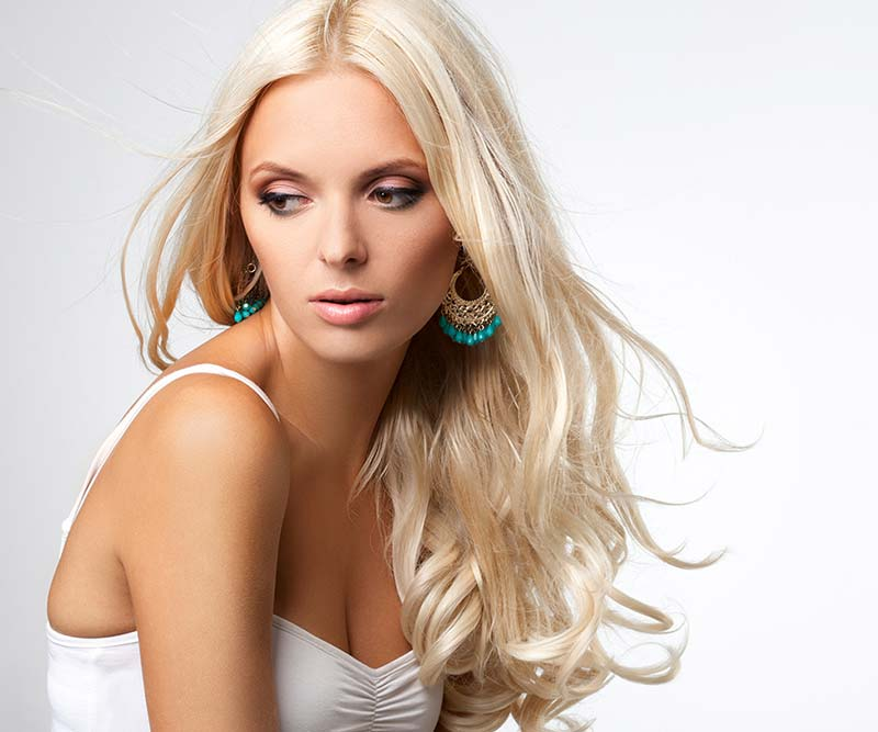Blonde Hairextensions
